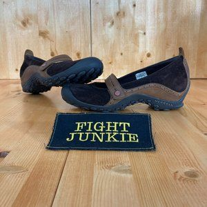 Merrell PLAZA BANDEAU Suede Mary Jane Shoes